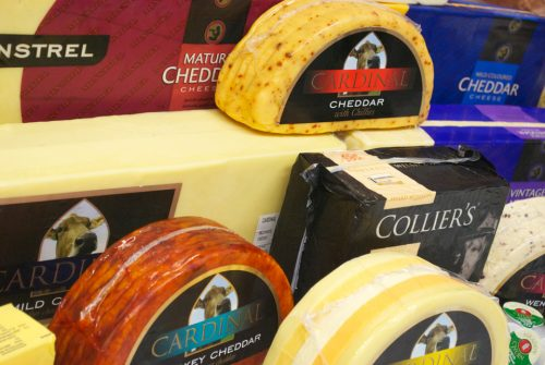Block & Flavoured Cheese